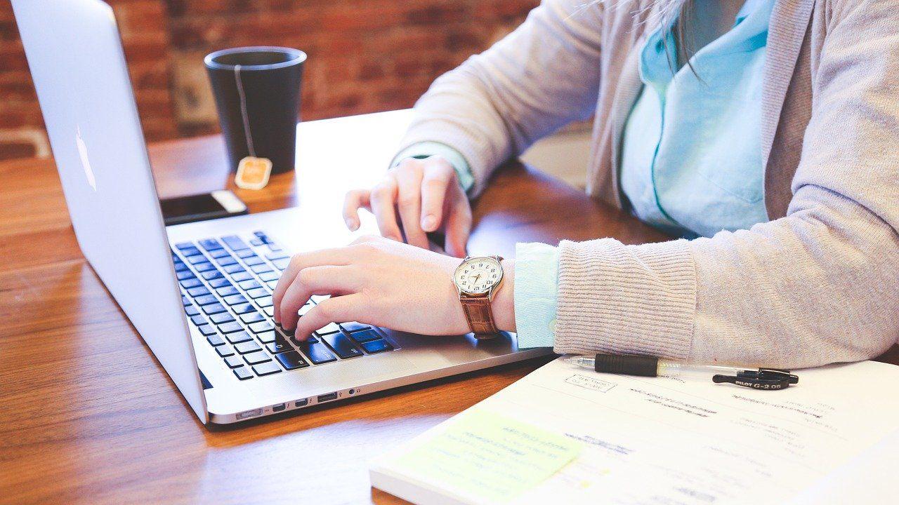traitement de texte sur ordinateur