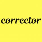 corrector