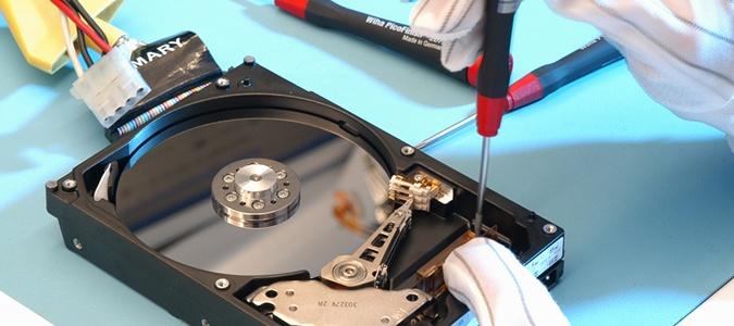 réparation de disque dur par un professionnel