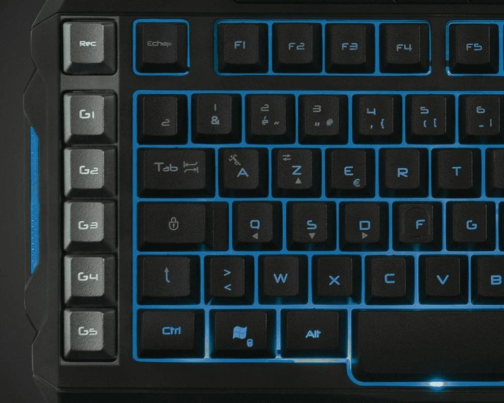 touches programmables macro clavier gamer