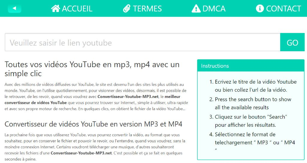 convertisseur youtube mp3 net