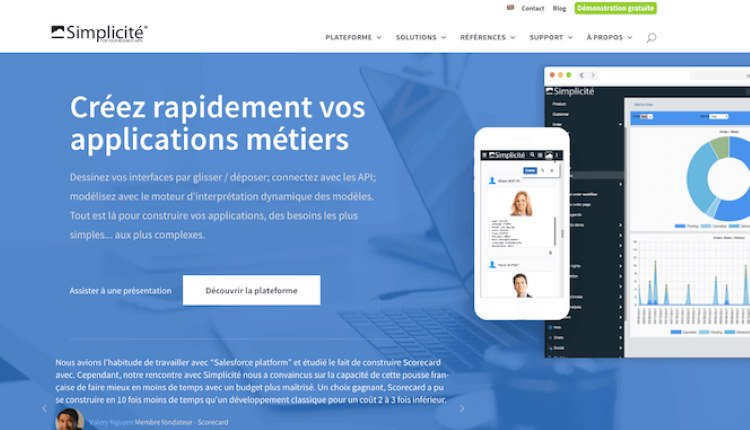 simplicité plateforme collaborative