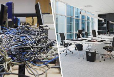 câbles électriques en entreprise
