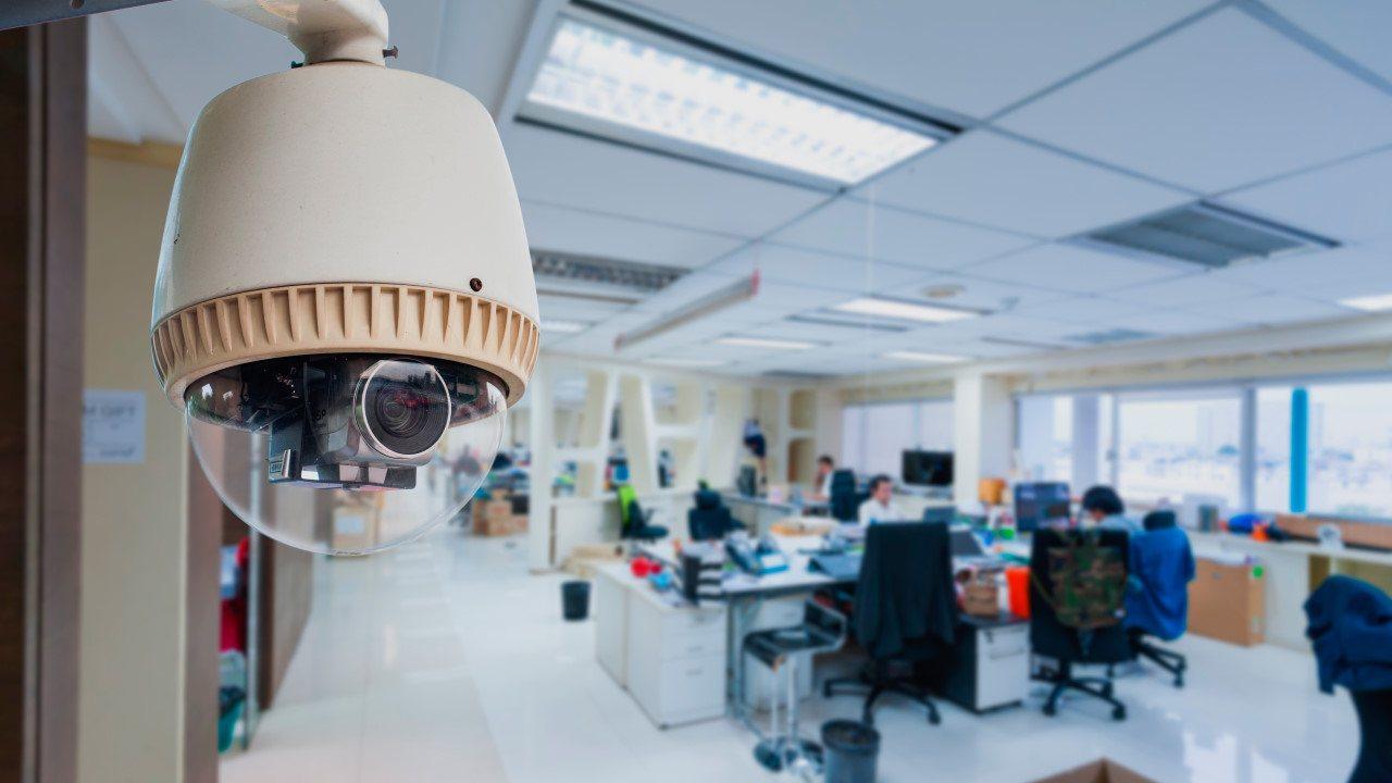 caméra de sécurité entreprise