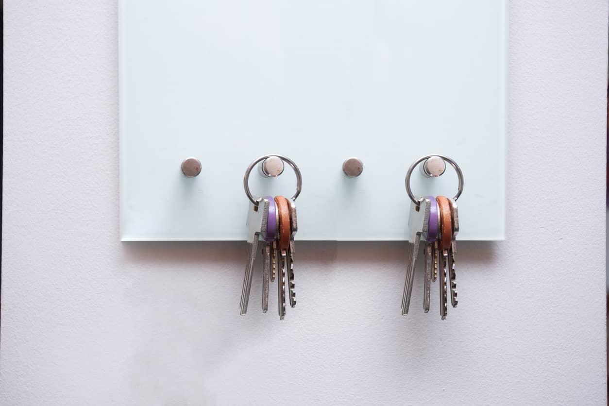 armoire à clés sécurisée