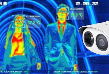 caméras thermiques COVID-19