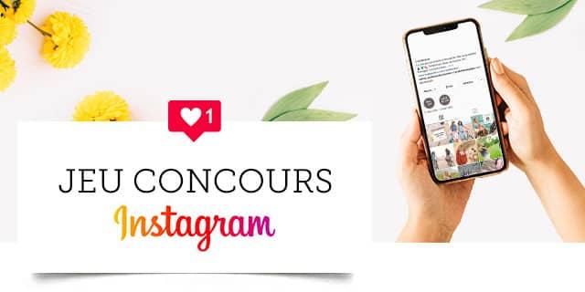 jeu-concours instagram