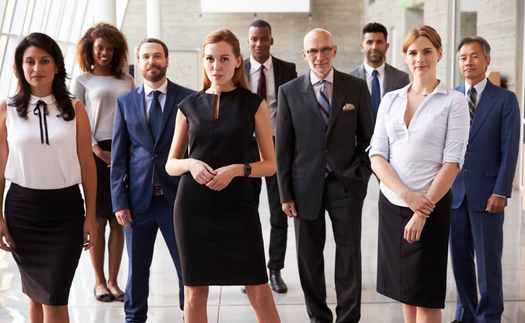 photo de groupe équipe entreprise