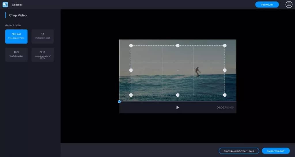 fastreel rogner vidéo en ligne