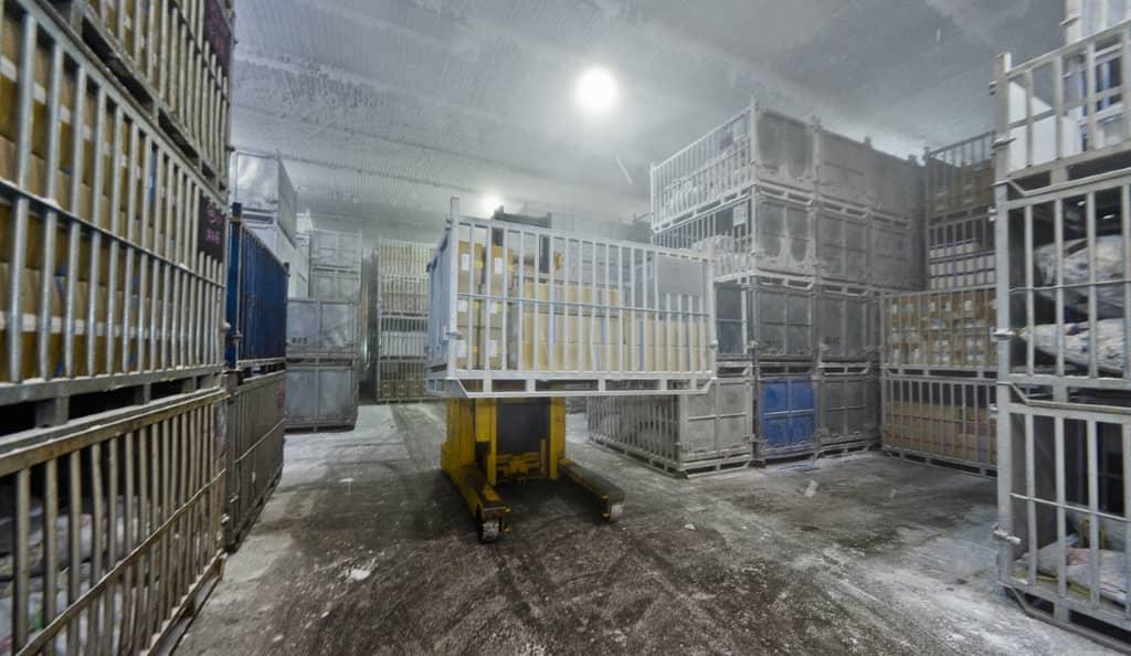 Chambre froide : matériel frigorifique entrepôt