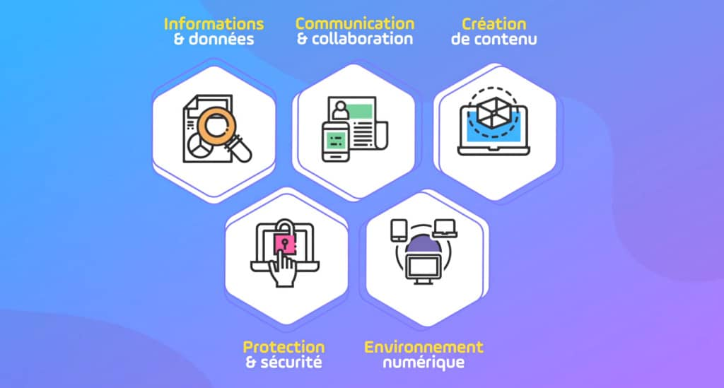domaines de compétences numériques pix