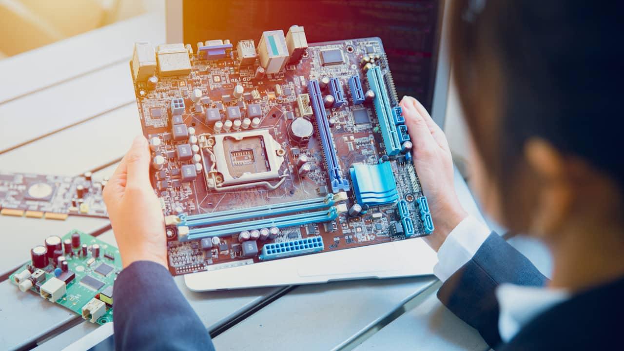 cartes électroniques industrie