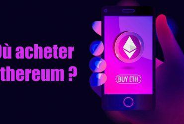 Où acheter de l'Ethereum ?