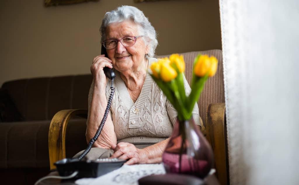 senior téléphone fixe filaire
