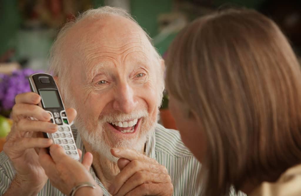 senior téléphone fixe sans fil