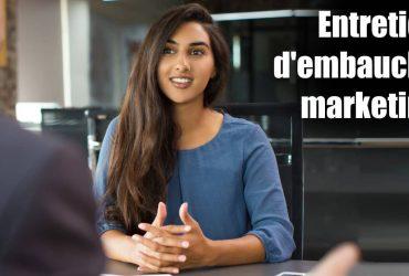 entretien d'embauche marketing