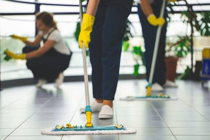 service de nettoyage en entreprise