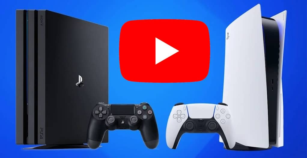 youtube activate PlayStation (PS4 ou PS5)